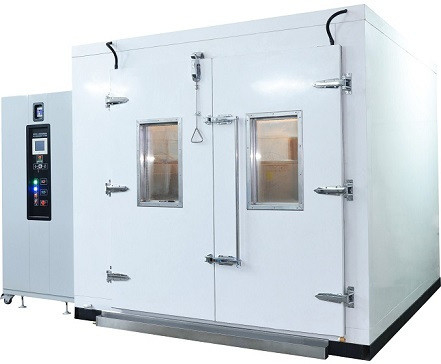 Temperature And Humidity Environmental Test Chamber  / Walk In Cooling Room